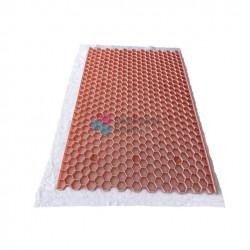 Nidagravel stabilisateur de graviers 3cm Rose 1,20m x  2,40m