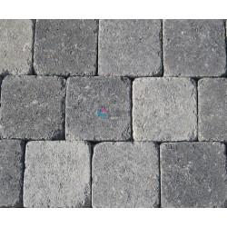 Pavés reconstitués 13 x 13 x 5cm gris nuancé