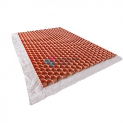 Nidagravel stabilisateur de graviers 2,9 cm Couleur Rose saumon