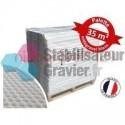 Palette de Stabilisateur de graviers Blanc 2,9 cm (35,52m2)