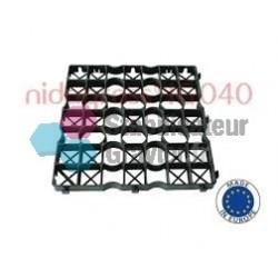Palette de 60m2 dalle IGO 40 50x50 noir