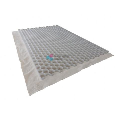 Nidagravel stabilisateur de graviers 2,9 cm (12,96 €/m2) Couleur Beige