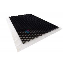 Palette de Stabilisateur de graviers Noir 3 cm (63,36m2)