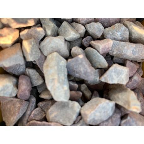 Gravier décoratif beige rose granite 6/10