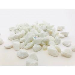 Gravier décoratif 9/16 Marbre Blanc Cristal
