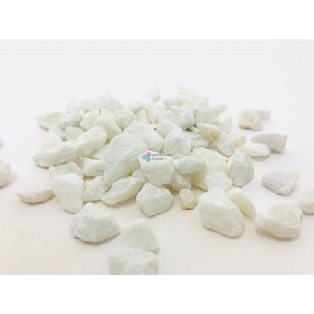 Gravier décoratif blanc 6/12 concassé